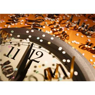 Image of New Year's Clock