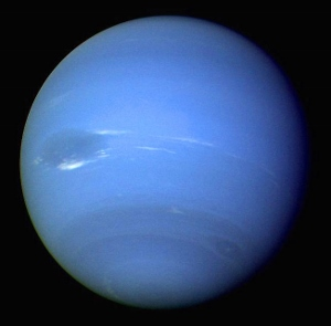 Neptune -- the other blue planet.