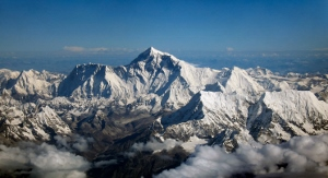 The southern face of Mt Everest.