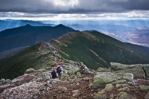 Franconia Ridge in New Hampshire
