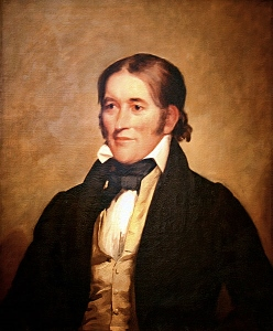 David Crockett: born in the State of Franklin, died in the Republic of Texas.