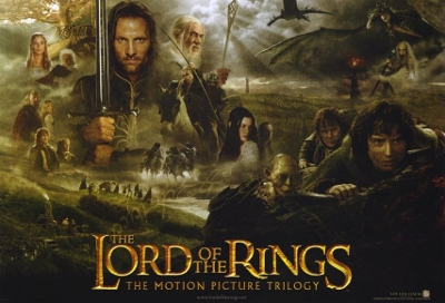Lord of the Rings Movie Poster (400x272)
