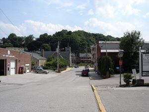 The diminutive borough of Glen Rock in southeastern Pennsylvania.