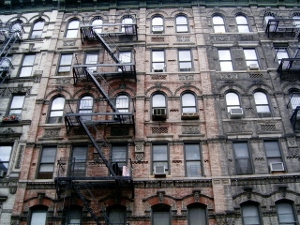 Tenements on NYC's Lower East Side.