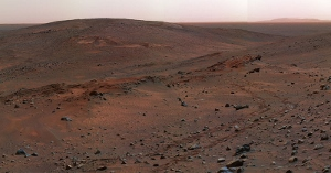 Gusev Crater on Mars.