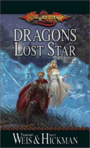 Dragons of a Lost Star by Margaret Weis and Tracy Hickman Cover