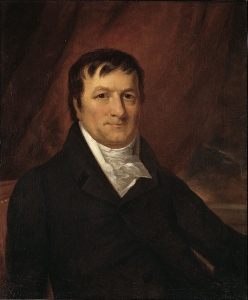 John Jacob Astor, circa 1825.
