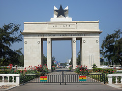 Flickr / George Appiah / CC.30 Independence Arch - Accra, Ghana