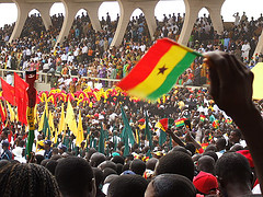 Flickr / Oluniyi Ajao / CC.30 Ghana's 50th Independence Anniversary national parade. (Golden Jubilee)