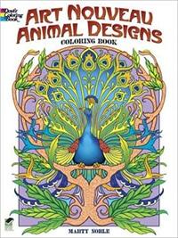 art nouveau animals