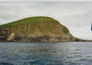 The cliffs of Rona.