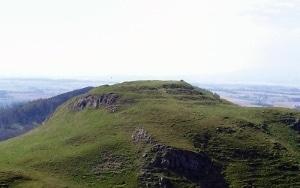 Dunsinane Hill in Scotland.