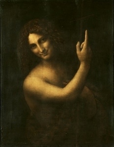 John the Baptist in the Louvre