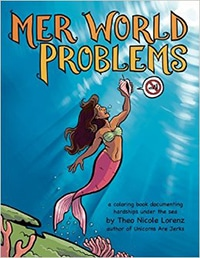 Mer World Problems Coloring Book