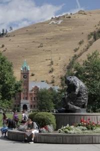 The UM campus.
