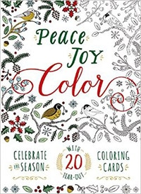 Peace Joy Color coloring book