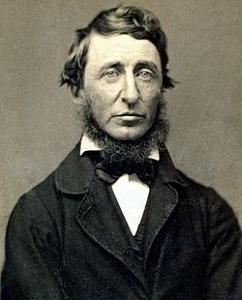 Thoreau at age 39.