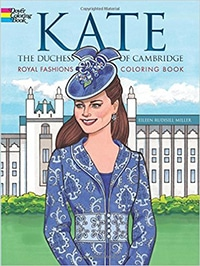 Kate Duchess of Cambridge coloring book