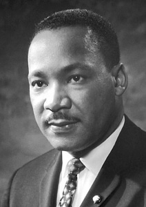 Martin Luther King, Jr. in 1964.