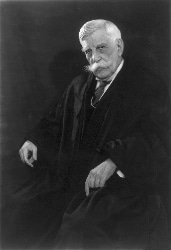Justice Holmes, shortly after writing the Buck v. Bell decision.