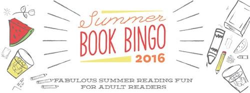 2016 Summer Book Bingo