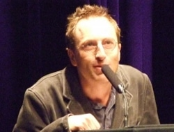 The author in 2009.
