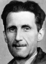 George Orwell, circa 1943.