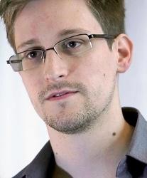 Edward Snowden, circa 2013.