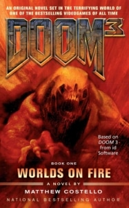 Doom 3 Worlds on Fire Cover