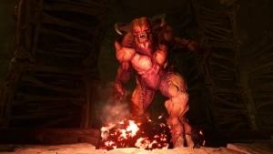A Hell Knight from Doom 4.