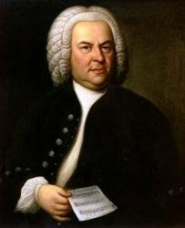 Bach...specifically Johann Sebastian, circa 1748.