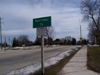 Manitowoc County sign