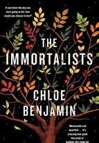The Immortalists by Chloe Benjamin cover