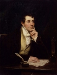 Sir Humphry Davy portait