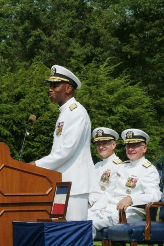 From Wikipedia, Rear Adm. Barry C. Black, chief of navy chaplains