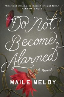 do not become alarmed book cover