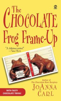 chocolate frog frame-up book cover