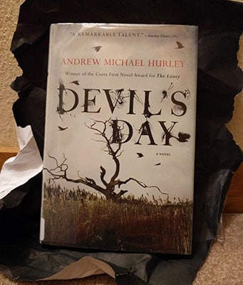 Devil's Day by Andrew Michael Hurley that I got as my blind date with a book