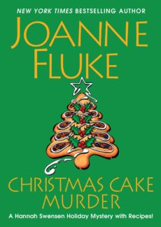 christmas cake murder book cover