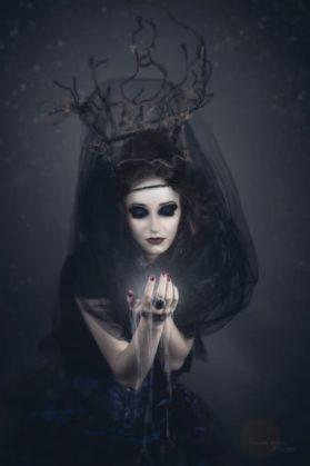 spooky woman