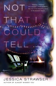not that i could tell book cover