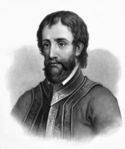 Hernando de Soto portrait
