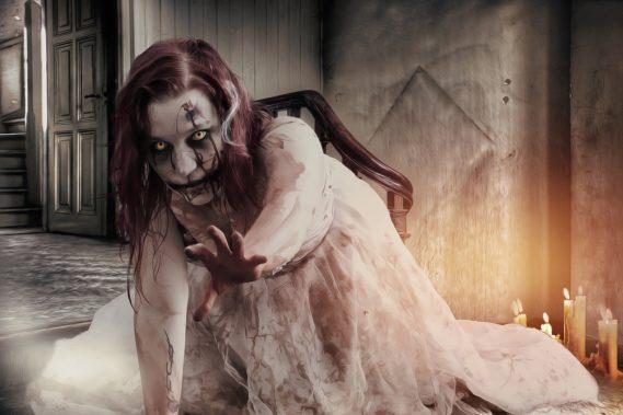 spooky zombie girl