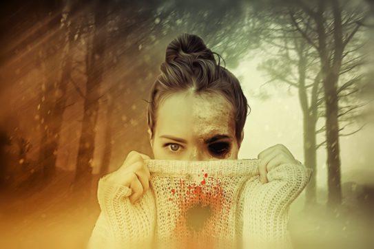 spooky lady