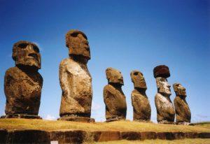 Moai on Rapa Nui photo