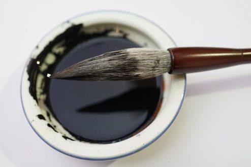 chinese writing brush