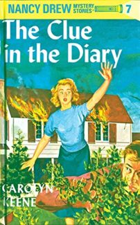 Nancy Drew and The Clue in the Library book cover