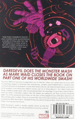 back of daredevil cover