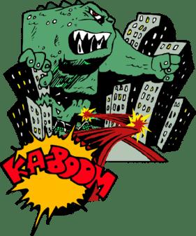 comic book monster