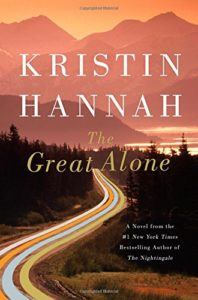 the great alone by kristin hannah book cover